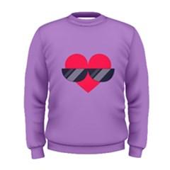 Sunglasses Heart Men s Sweatshirts
