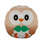 Rowlet Pillow Front